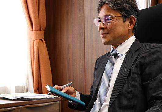 代表取締役社長 鷲尾 忠彦