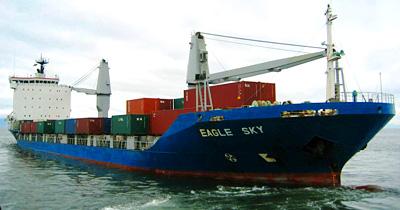 海上輸送(コンテナ船)